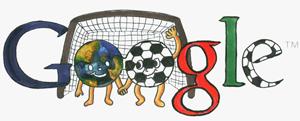Google Logo: Doodle 4 Google 'I Love Football' National Winner - South Korea